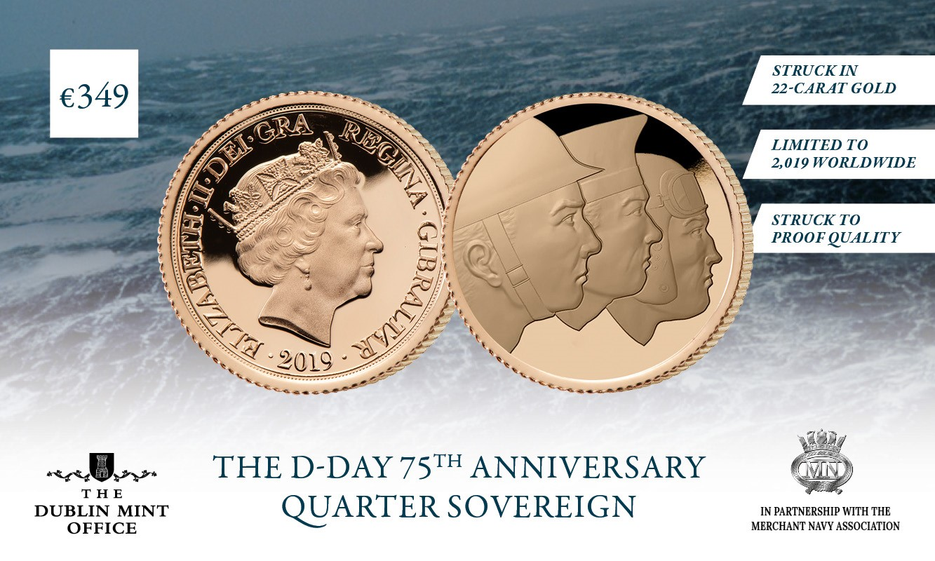 The Official D-Day 75th Anniversary Quarter Sovereign