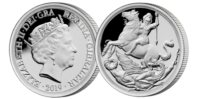 The World's First Silver Half Sovereign