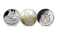 Own three world's first editions in one set and live through the Silver age of Sovereign, with the first ever Silver Sovereign to feature the Irish Harp