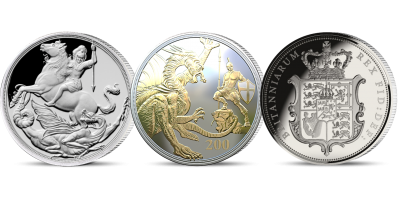 The Silver Age of the Sovereign 3 Coin Set