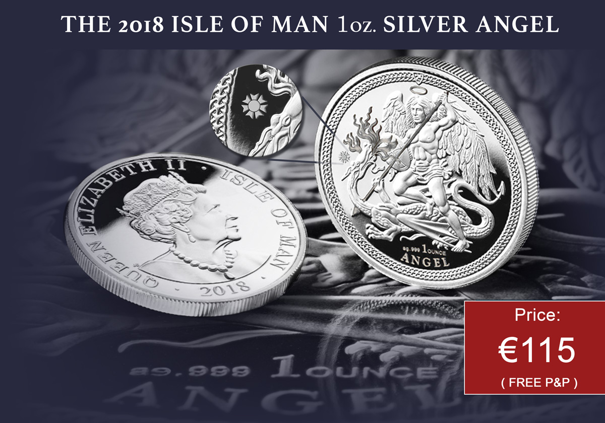 Silver Angel 2018 | The Dublin Mint Office