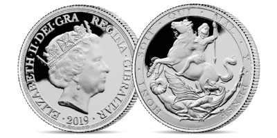 The World's First Silver Double Sovereign