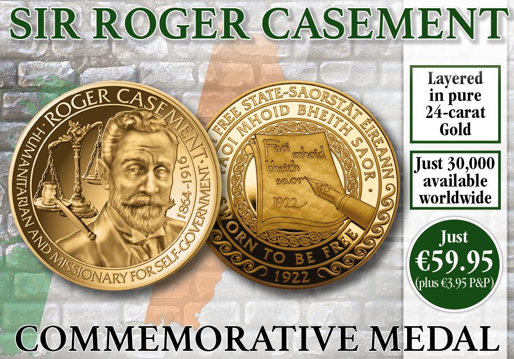 Sir Roger Casement Commemorative Medal
