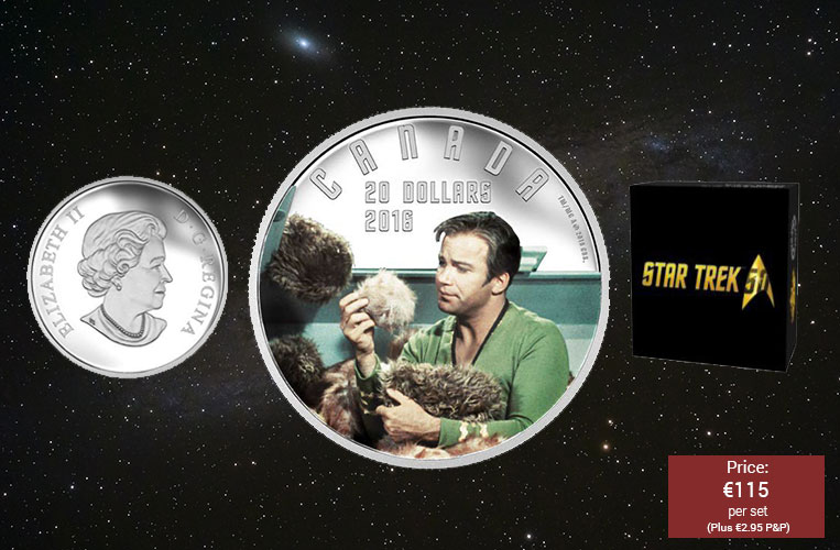Star Trek: The Trouble with Tribbles Silver Coin
