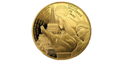 Treasures of Paris 1oz Gold Coin - only 250 worldwide
