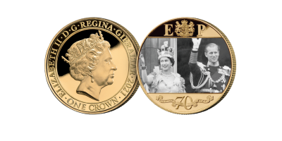 The Strength & Stay Seven Decades of Devotion Gold Layered Coin