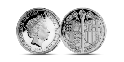 Strength & Stay Seven Decades of Devotion Silver Sovereign