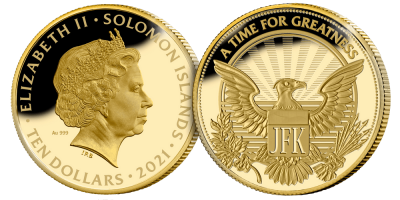 The Man Behind the Monogram President 1/10 oz Gold Completer