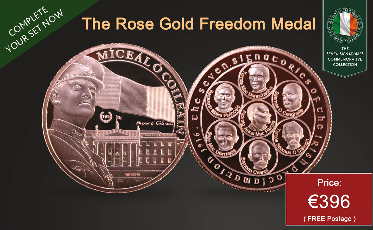 The Rose Gold Freedom Medal