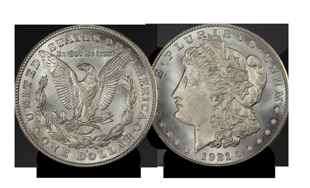 Anoriginal 1921Morgan Dollar