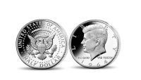 JFK Coin Obverse and Reverse