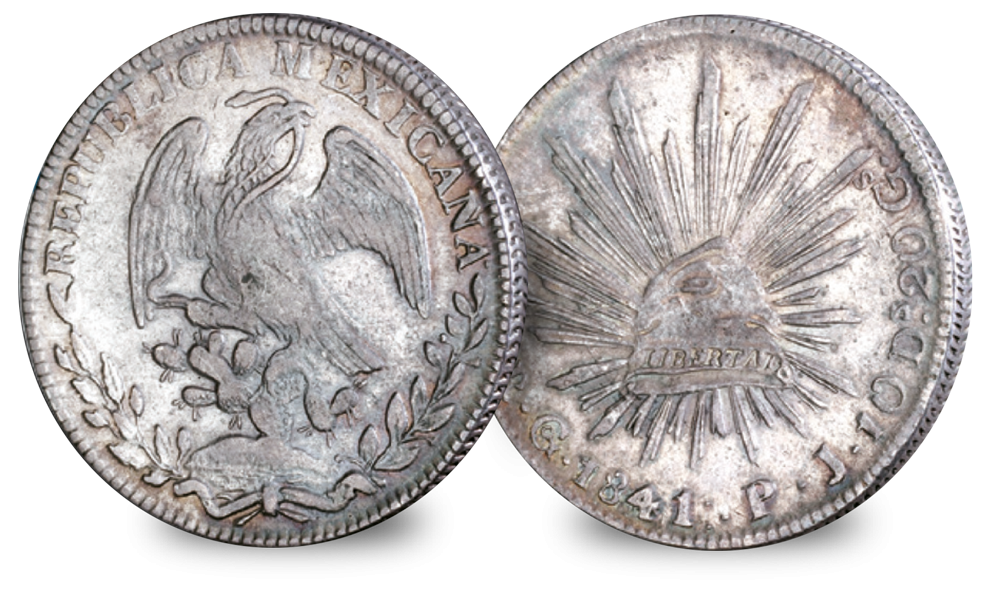 The set is comprised of four extremely significant coins for the 1800's.