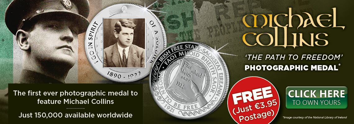 Michael Collins Free Medal